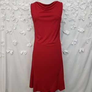 Express Drape front V Back Dress Size Medium